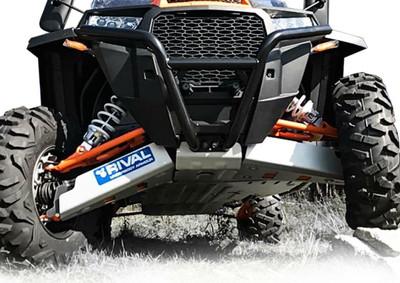 Rival Powersports Polaris RZR XP 1000 / TURBO / 4 1000 / 4 TURBO Alloy Full Skidplate Kit 2444.7445.1