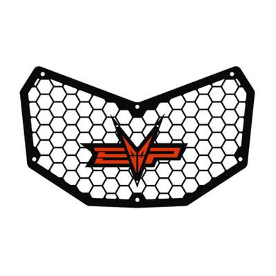 EVO Powersports Can Am Maverick X3 Front Grill Orange Red EVO-CA-FG-OR