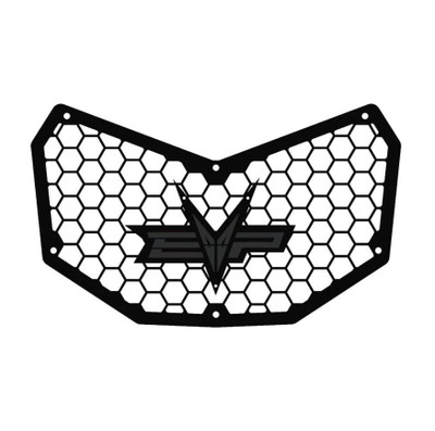 EVO Powersports Can Am Maverick X3 Front Grill Charcoal Grey EVO-CA-FG-CG