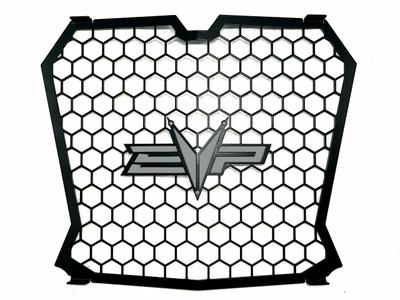 EVO Powersports Polaris RZR XP Turbo Grille Silver 925FP0050