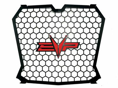 EVO Powersports Polaris RZR XP Turbo Grille Red 925FP0051