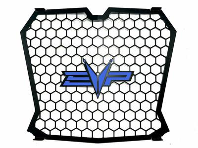 EVO Powersports Polaris RZR XP Turbo Grille Dark Blue 925FP0052-2