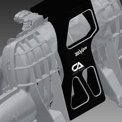EVO Powersports CAN-AM Maverick X3 The Clamp Plenum Reinforcement Brace 203FC0051