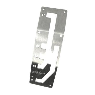 EVO Powersports CAN-AM Maverick X3 Billet Shift Gate Brushed Aluminum 925FC0004