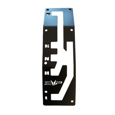 EVO Powersports CAN-AM Maverick X3 Billet Shift Gate Black 925FC0049