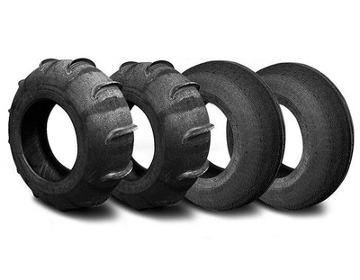 SandCraft Front Mohawk and Rear Extreme Sand Tire Kit 10 Paddle 32x13x15 10P-EXT-MOH-321315