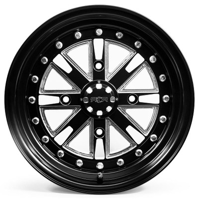 SandCraft Nitro CAN-AM X3 15X8 Front and 15X11 Rear - Wheel Kit 4x136 NIT15-CAN-4136-811