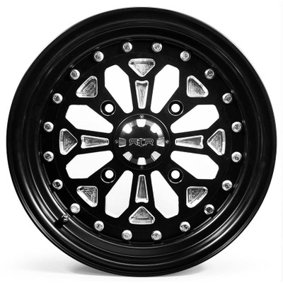 SandCraft Nomad CAN-AM X3 16X8 Front and 16X11 Rear - Wheel Kit 4x136 NOM16-CANAM-4136-811