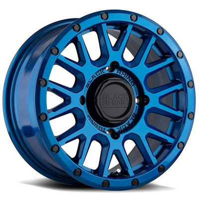 Black Rhino Wheels La Paz UTV Wheel 14x7 4x110 51 Blue 1470LPZ514110U80