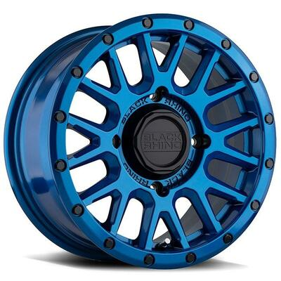 Black Rhino Wheels La Paz UTV Wheel 14x7 4x156 51 Blue 1470LPZ514156U32
