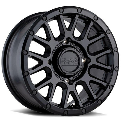 Black Rhino Wheels La Paz UTV Wheel 14x7 4x110 36 Black 1470LPZ364110M80