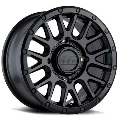 Black Rhino Wheels La Paz UTV Wheel 14x7 4x110 51 Black 1470LPZ514110M80