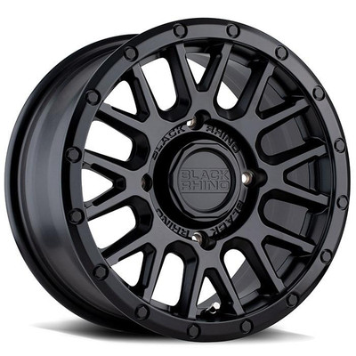 Black Rhino Wheels La Paz UTV Wheel 15x7 4x110 51 Black 1570LPZ514110M80