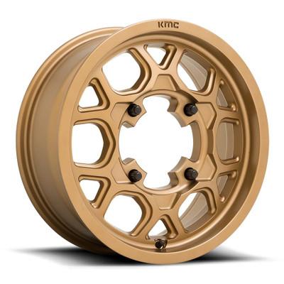 KMC KS133 Mesa Lite UTV Wheel 15X6 4X156 Bronze KS13356044638