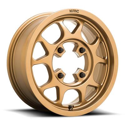 KMC KS136 Toro UTV Wheel 15X6 4X156 Bronze KS13656044638