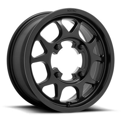 KMC KS136 Toro UTV Wheel 15X6 4X156 Black KS13656044738