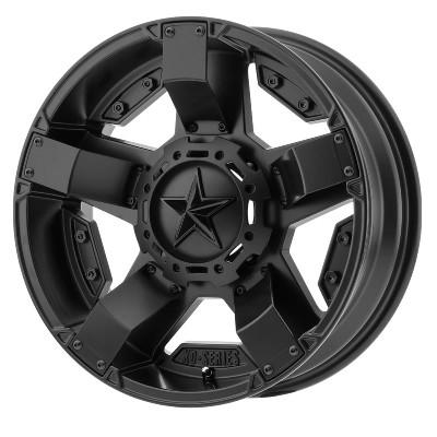 KMC XS811 RS2 UTV Wheel 18X7 4X137 Black XS81187048700