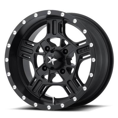 MSA M32 Axe UTV Wheel 18X7 4X137 Black M32-08737