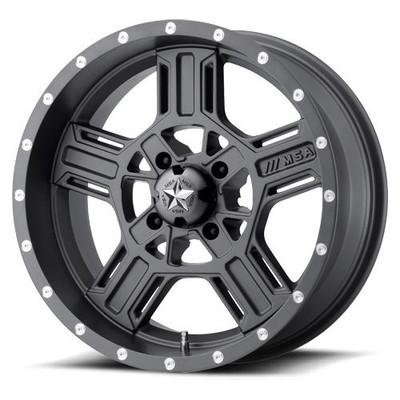 MSA M32 Axe UTV Wheel 18X7 4X137 Gray M32-08737G