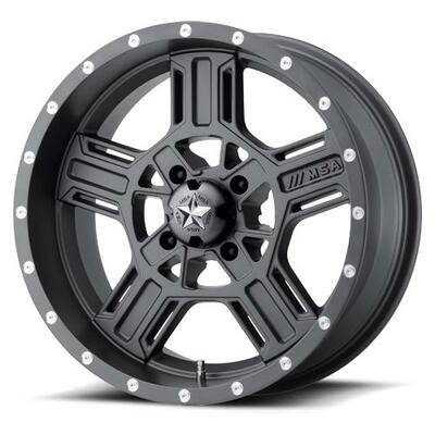MSA M32 Axe UTV Wheel 18X7 4X156 Gray M32-08756G