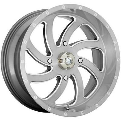 MSA M36 Switch UTV Wheel 22X7 4X137 Brushed M36-022737TI