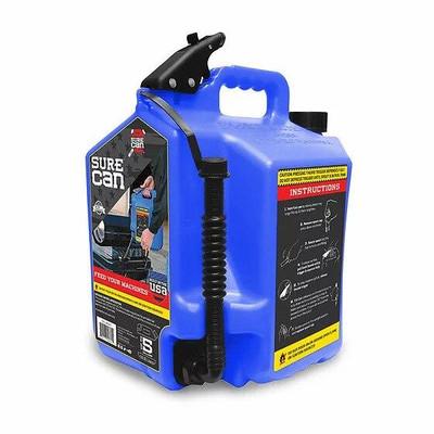 SureCan Fuel Can 5 Gallon Kerosene SUR50K1