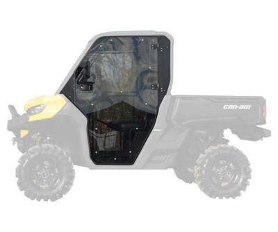 SuperATV Can-Am Defender Cab Enclosure Doors (DOOR-CA-DEF-001-72)