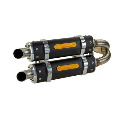 RJWC Can-Am Maverick X3 Exhaust, APX/C Dual Carbon Fiber 1006006