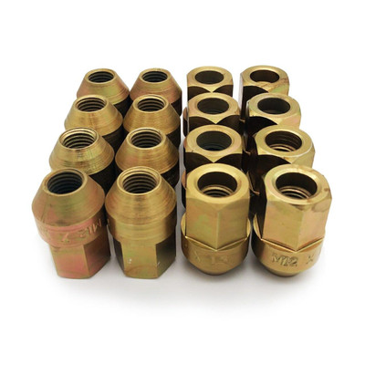 Zollinger Racing Products M12x1.5 Chromoly Race Lug Nuts Set of 16 65018-SE
