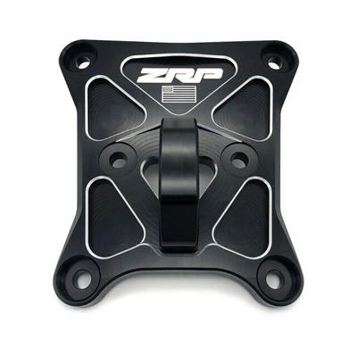 Zollinger Racing Products RZR Pro-XP Radius Rod Plate Black Black D-Ring 500152blbl