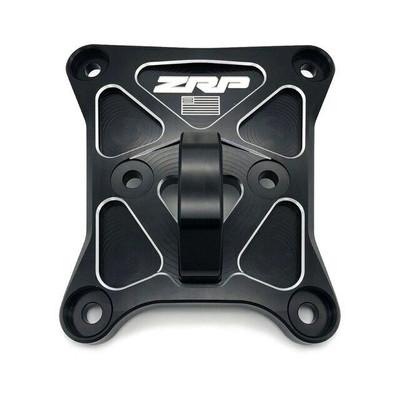 Zollinger Racing Products RZR Pro-XP Radius Rod Plate Black Aluminum D-Ring 500152blal