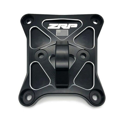 Zollinger Racing Products RZR Pro-XP Radius Rod Plate Black Aluminum Hitch 500153blal
