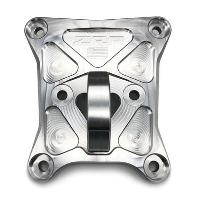 Zollinger Racing Products RZR Pro-XP Radius Rod Plate Aluminum Black Hitch 500153albl