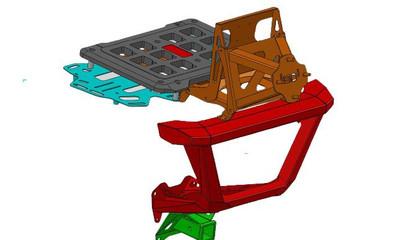 Bosman Designs Honda Talon Rear Bumper (BDSXS-H00640)