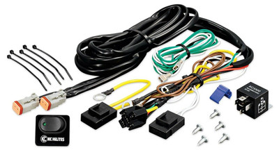 KC HiLites Wiring Harness with 40 Amp Relay and LED Rocker Switch 6315