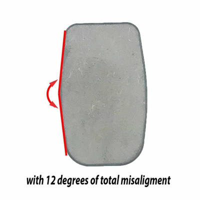 AGM Weld-on Jack Point w/12 Degrees Misalignment AGM-EJA-2021