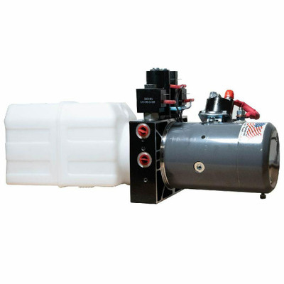 AGM Power Unit - Stand Alone Hydraulic Power Supply for Dakar Jack System Plastic Tank AGM-CM-1201