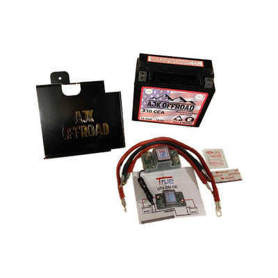 AJK Offroad Can-Am X3 Dual Battery Kit 400127