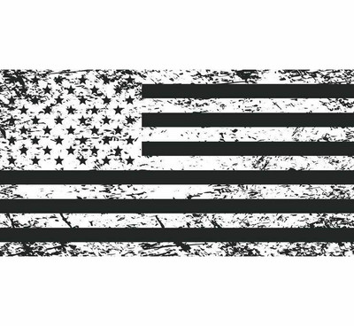 DragonFire Racing Whip Flag - Double-sided Print Tattered American Flag 522126