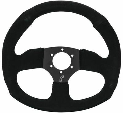 DragonFire Racing D-Shape Steering Wheels Steel Black 522342