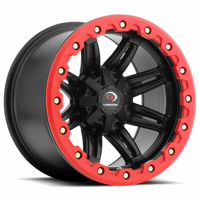 Vision Wheel 551 Five Fifty One 14x10 4x115 0 Matte Black 551-141115MBR5