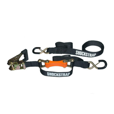 ShockStrap 1.5″ Ratchet Strap Tie-Down 7Ft Long Orange 7RSNGP