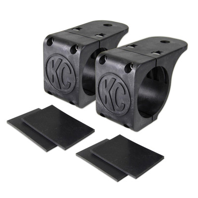 KC HiLites Tube Clamp Mount Bracket for Round Light Bars and Roof Racks 1.75 to 2 7307
