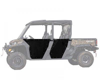 SuperATV Can-Am Defender Aluminum Doors 4-Door DOOR-CA-DEFMAX-002-00