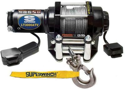 SUPERWINCH 12V ATV/UTV Utility Winch - Steel Rope LT3000 1130220