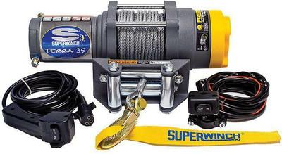 SUPERWINCH 12V ATV/UTV Utility Winch - Steel Rope Terra 35 1135220