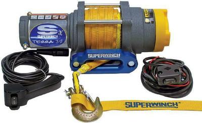 SUPERWINCH 12V ATV/UTV Utility Winch - Synthetic Rope Terra 35SR 1135230