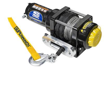 SUPERWINCH 12V ATV/UTV Utility Winch - Synthetic Rope LT4000SR 1140230