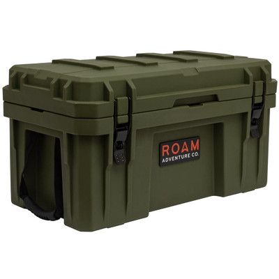 ROAM Adventure Co 52L Rugged Case Storage Box OD Green ROAM-CASE-52L-ODGREEN