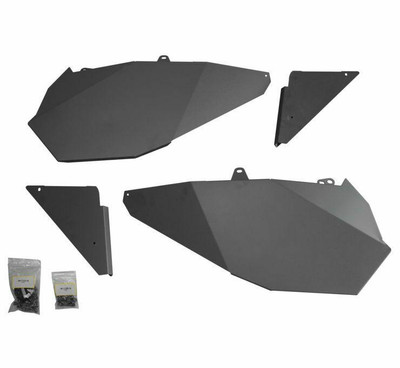 DragonFire Racing Polaris RZR Door Filler Panel Kit 2 Seat 520667